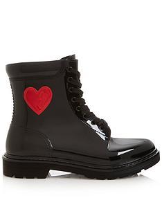 love-moschino-patent-logo-biker-boots-black