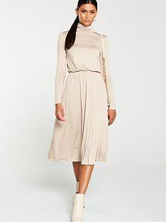 v-by-very-roll-neck-jersey-midi-dress-stone