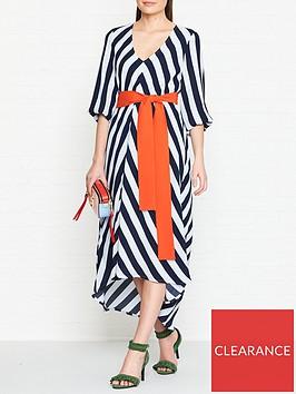 gestuz-vaia-stripe-dress-blue