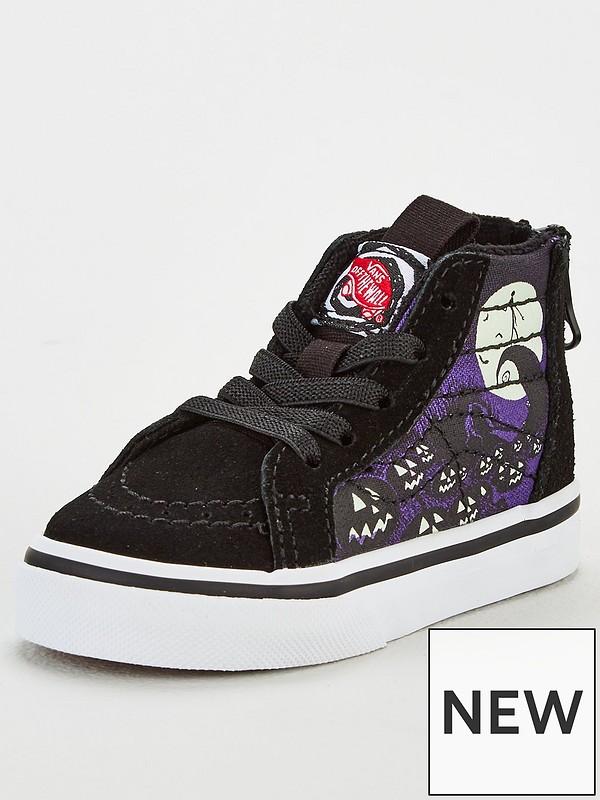 Nightmare Before Christmas Shoes Diy.Toddler Sk8 Hi Zip Nightmare Before Christmas Jacks Lament Shoes Black