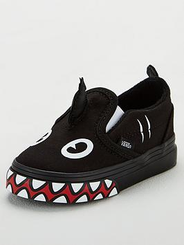 vans-slip-on-shark-week-toddler-trainers-blackwhite