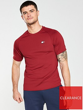 tommy-hilfiger-performance-crew-neck-mesh-back-t-shirt-red