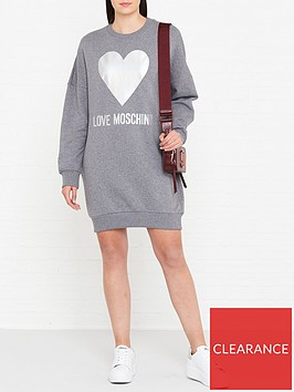 love-moschino-foil-heart-logo-sweatshirt-dress-grey