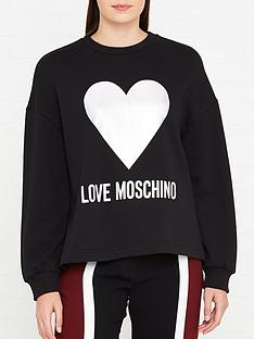 love-moschino-foil-heart-logo-sweatshirt-black