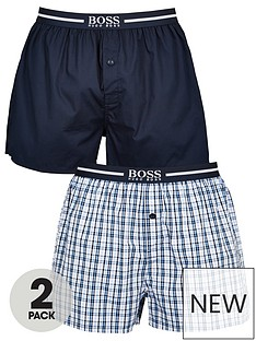 boss-bodywear-2-pack-woven-boxer-navy
