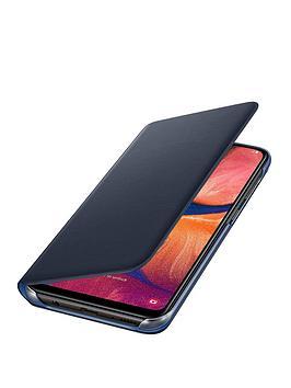 samsung-galaxy-a20e-wallet-cover-black