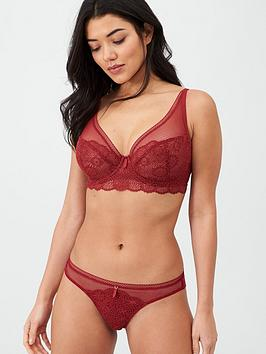 freya-expression-lace-high-apex-bra-red