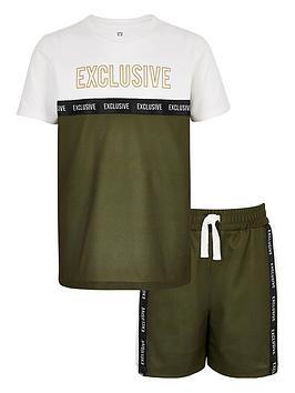 river-island-boys-printed-mesh-t-shirt-outfit-khaki