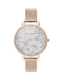 olivia-burton-olivia-burton-terrazzo-grey-floral-and-rose-gold-detail-dial-rose-gold-stainless-steel-mesh-strap-ladies-watch