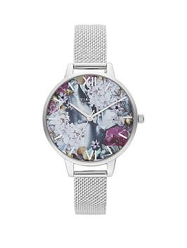olivia-burton-olivia-burton-under-the-sea-floral-pearlesque-dial-stainless-steel-boucle-mesh-strap-ladies-watch