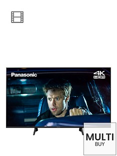 Panasonic TX-40GX700B (2019) 40 inch, 4K Ultra HD, HDR Freeview Play Smart TV