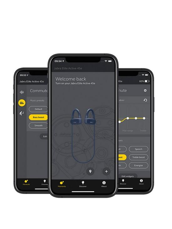 616a53f560a ... Jabra Jabra Elite Active 45e Wireless Bluetooth Sport Earbuds with IP67  Waterproof Rating and Integrated Voice Assistant - Black. View larger