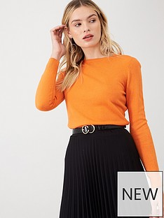 v-by-very-supersoft-long-sleeve-jumper-orange