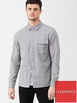 very-man-textured-shirt-mid-grey