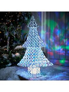 noma-65-cm-jewel-effect-christmas-tree-indooroutdoor-decoration
