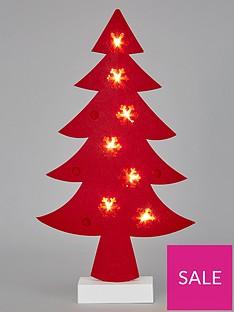 noma-lit-red-felt-tree-battery-operated-room-light