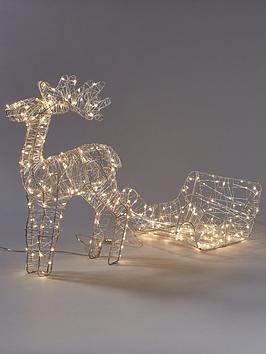 noma-reindeer-and-sleigh-lit-christmas-decoration