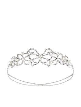 monsoon-diamante-butterflynbspheadband-silver