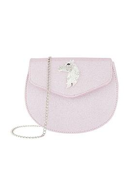 monsoon-mystique-diamante-unicorn-bag-pink