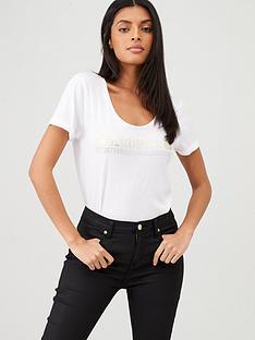 barbour-international-baseline-t-shirt-white