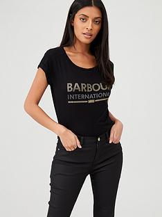 barbour-international-strike-t-shirt