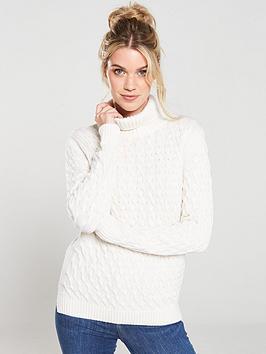 barbour-burne-knitted-jumper-off-white