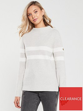 barbour-international-quayle-knitted-jumper-pale-grey