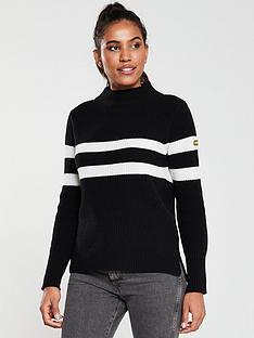 barbour-international-quayle-knitted-jumper-black