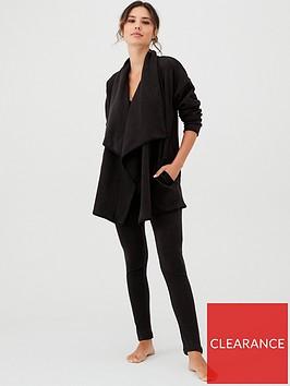 dkny-fleece-cozy-legging-set-black