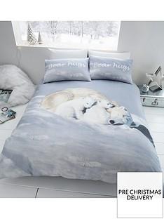 catherine-lansfield-brushed-cotton-polar-bears-christmas-duvet-cover-set