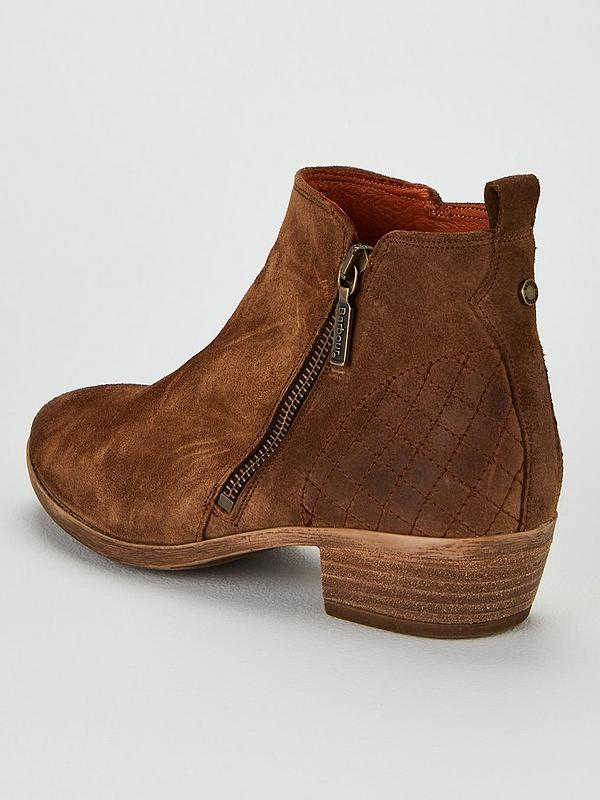 Una Western Boots Tobacco