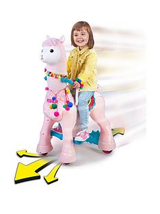 feber-my-lovely-llama-12v-battery-operated-ride-on