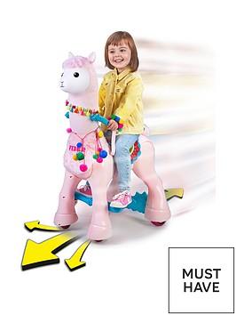 feber-my-lovely-llama-12v-battery-operated-ride-on