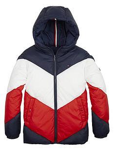 tommy-hilfiger-girls-reversible-colourblock-padded-coat-navy