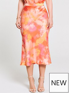 cb004e020 Kate Wright Bias Cut Midi Skirt - Tie Dye · £30