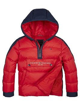 tommy-hilfiger-boys-pop-overhead-padded-coat-red