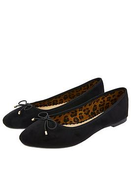 accessorize-charlotte-leopard-lined-ballerina-shoes-black