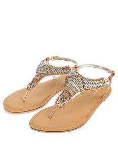 7bd47d586e8f3 Bridal | Sandals & flip flops | Shoes & boots | Women | www.very.co.uk