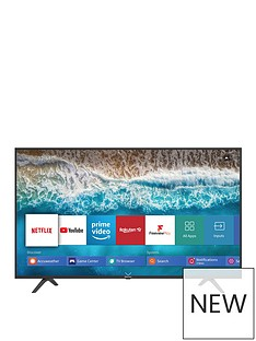 Hisense Hisense H43B7100UK 43 inch, 4K Ultra HD, HDR, Freeview Play Smart TV