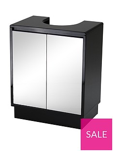 lloyd-pascal-memphis-mirrored-black-high-gloss-undersink-storage-cabinet