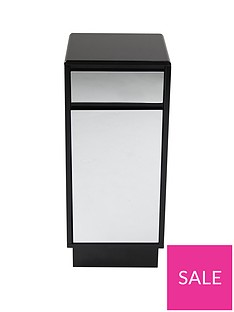 lloyd-pascal-memphis-mirrored-black-high-gloss-single-bathroom-storage-unit