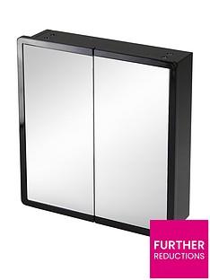 lloyd-pascal-memphis-bathroom-double-mirror-black-high-gloss-wall-cabinet