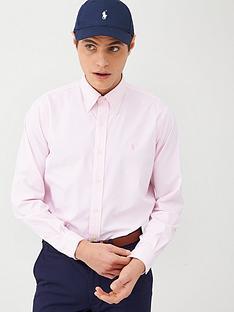 polo-ralph-lauren-golf-ivy-club-oxford-shirt-pinkwhite