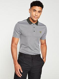 lyle-scott-golf-microstripe-polo-shirt-spruce-greenglacier-grey