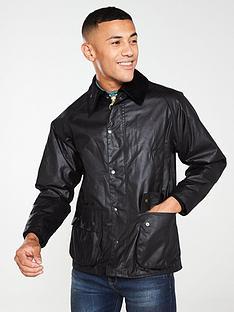 barbour-bedale-wax-jacket-black