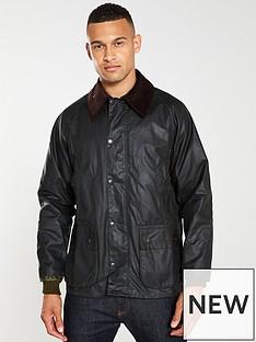 barbour-bedale-wax-jacket-sage