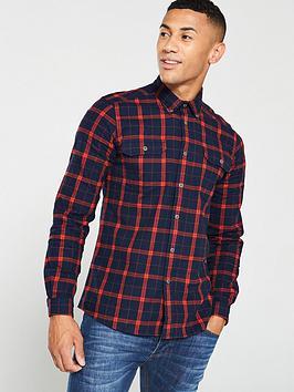 barbour-international-shroud-shirt-navyred