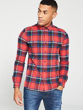 barbour-international-chuck-shirt-red