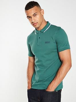 barbour-international-twin-tipped-polo-shirt-green