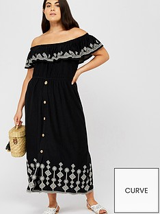 monsoon-curve-cora-embroidered-jersey-dress-black